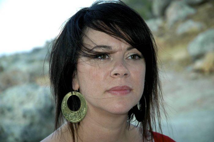 Hair and beauty PR photos of Jo Berchard, a masseuse at beauty salon DollyLeo
