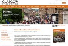 Glasgow Chamber of Commerce Website