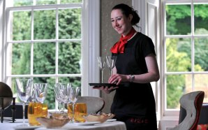 scottish public relations agency for restaurant launch of uniforms