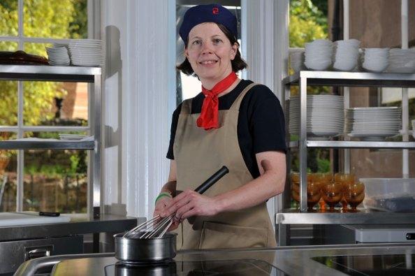 public relations photos by Edinburgh PR agency for Michelin star restaurant