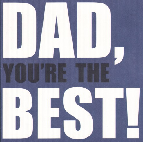 Say exactly what you want to say to your dad this Father's Day