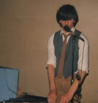 1979 Radio Forth Under 18 DJ of the Year on the decks