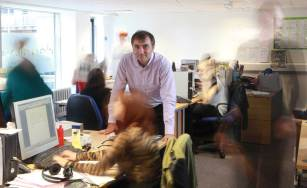 2013 At the heart of the Holyrood PR office