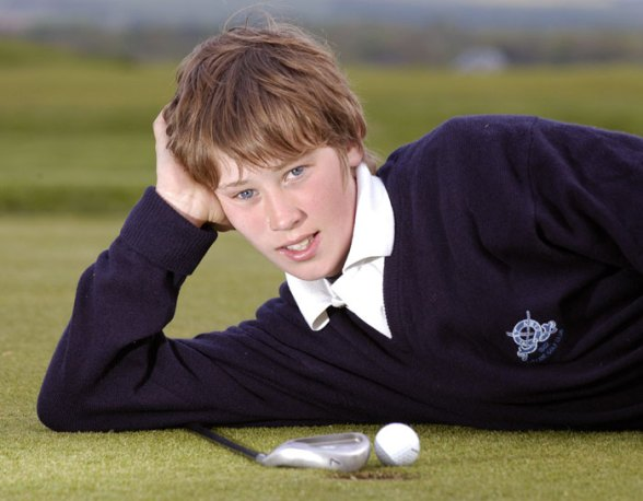 Public relations agency in Edinburgh provides PR photography for US Kids golf