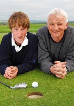Edinburgh PR agency arranges public relations photography for US Kids Golf