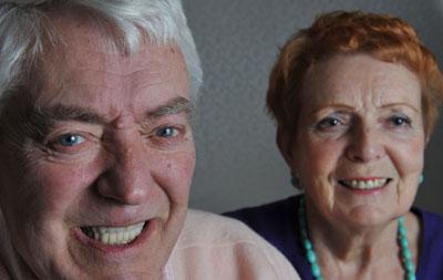 Iain and Liz Robertson enjoy regular holidays abroad following 76-year-old Iain's dental implants fitting at Lubiju cosmetic dentist.