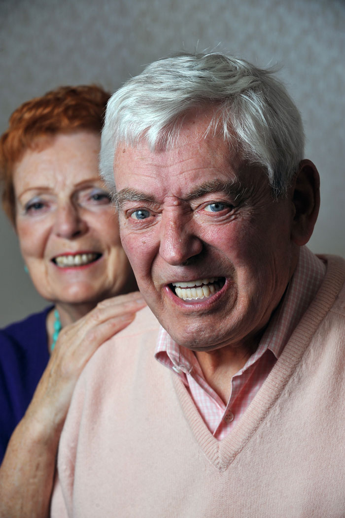 Iain Robertson's life was so blighted by a loose lower denture plate he even avoided taking holidays abroad because he suffered from painful gum sores, an inability to eat many foods and even problems with his speech. His newly fitted dental implants from leading dentist Lubiju mean he and with Liz can now enjoy their time free from worries about teeth