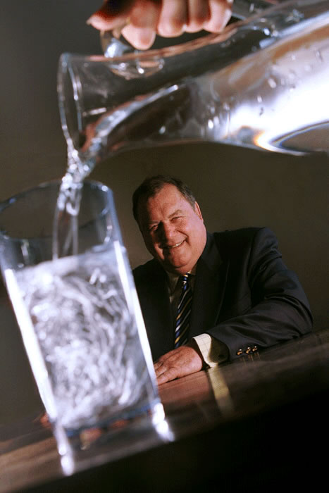 Jim Panton is chairman of Borders-based water quality engineering firm Panton McLeod. The company is the leading firm involved in the inspection and cleaning of structures used to store potable drinking water across the UK, and works closely with some of the country's biggest water companies.