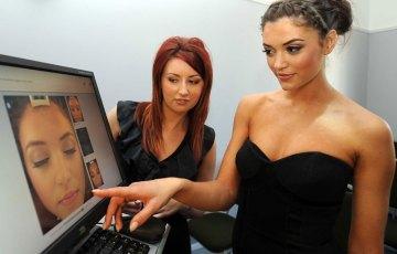 PR in Scotland PR photography sculpta cosmetic clinic model