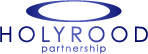 The logo of Holyrood PR from 2002 to 2017