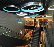 Interior of Primark Edinburgh, launched with PR support from Holyrood PR