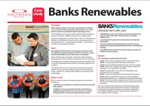 PR case study into successful campaing on behalf of renewable energy