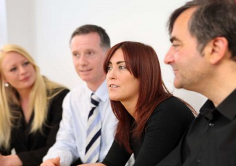 Team meeting at Holyrood PR