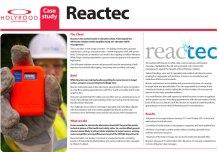 PR in Scotland for Reactec