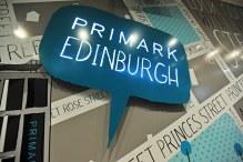 Fashion PR launch for Primark in Princes Street, Edinburgh