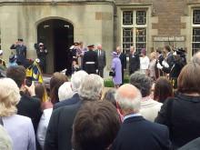 Cadet Meets the Queen