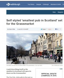 Wee Pub on STV website