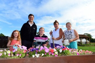 Banks Renewables have donated to a community garden project