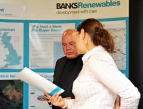 PR photography for Banks Rnewables is provided by Scottish PR agency Holyrood PR in Edinburgh