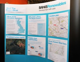 Banks Renewables uses Edinburgh PR agency for public relations photography