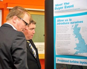 Edinburgh PR agency took PR photographs of wind farm public exhibition