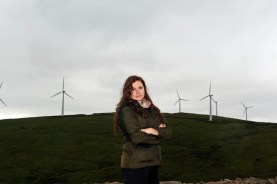 Public relations photography by Edinburgh PR agency on behalf of wind farm company