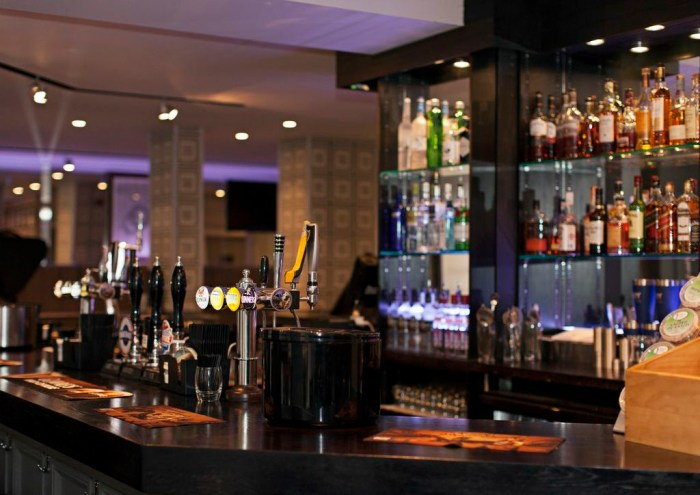 Food and Drink PR photography The Melville Bar Interior