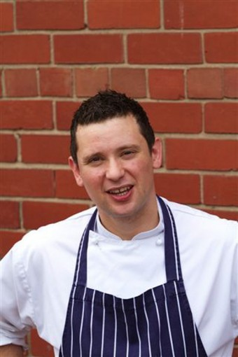 Tom Beauchamp wins Scottish Sodexo Chef of the Year.