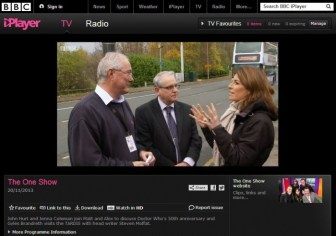 Eagle Couriers has been featured on BBC's The One Show