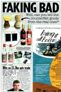 Fake VS Real feature in the Sun ahead of SBRC's Anti-Illicit Trade Summit