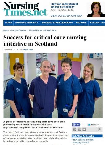27 MAR The Nursing Times Online