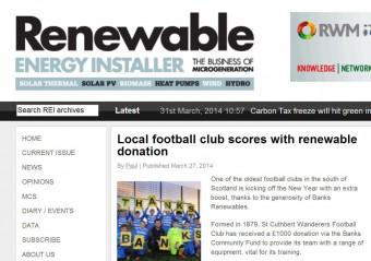 31 MAR Renewable Energy Installer Online