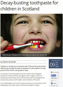 09 APR Tooth Decay Media coverage