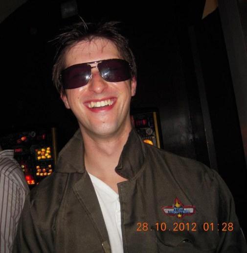 Top Gun Craig at Halloween