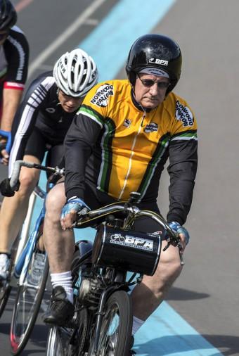 National Derny Championships, Herne Hill Velodrome 18/08/2012.