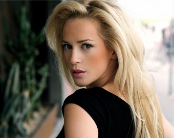 A public relations photo of Scottish actress Louise Linton, who works with public relations agency Holyrood Partnership