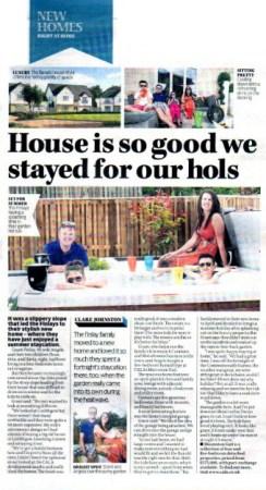 Public relations agency in Scotland Holyrood PR in Edinburgh, works wiith CALA Homes