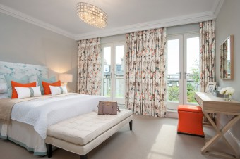 Bedroom at cala's cumberland show home