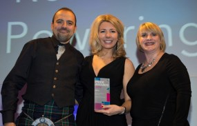 Scottish public relations agency Holyrood PR won five PR awards at 2014 CIPR Scotland awards