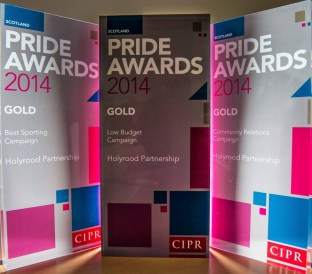 Public relations agency in Edingburgh, Scotland celebrates winning five PR awards