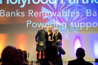 Public relations agency Holyrood PR in Edinburgh, Scotland, winning five PR awards in 2014
