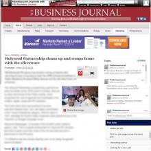 06 NOV The business journal for website copy