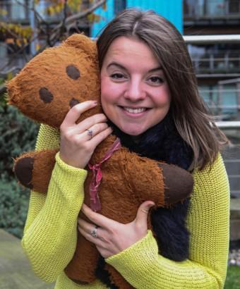 Edinburgh PR account executive Vickie Henry tell her toy story
