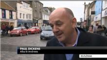 Paul Dickens on STV