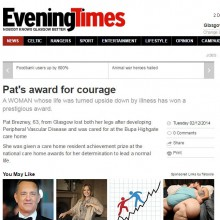 Evening times Bupa pat coverage to use