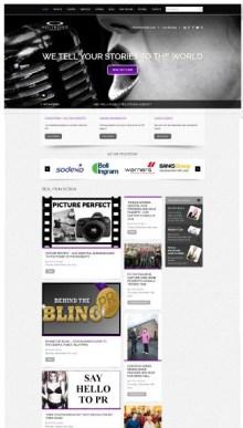 Public relations agency website of Holyrood PR in Edinburgh