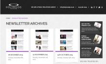 Holyrood PR newsletter archive