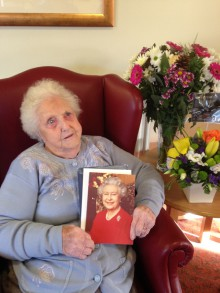 Mrs Kelly's 100th Birthday Bupa Edinburgh PR Client