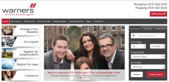 Public relations and online content strategy for Warners solicitors and estate agents