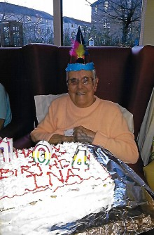 Ina Carruthers 104 Birthday Bupa Client Edinburgh PR